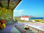 Mediation Gazebo: Alternative therapies, superb sea view with church