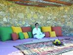 Villa Galaxy's unique Meditation Gazebo