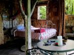 Tree cottage bedroom