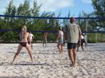 Volleyball Beach Stocking Island