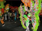 Junkanoo celebration at Christmas time