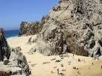 Visit Lovers Beach Which is Beside El Arco by Water Taxi
