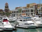 Enjoy the Unique Shops, Fanastic Eateries and Night Spots in the Marina