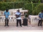 a reggae band