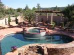 Pool, spa & privacy