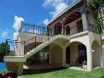 The villa is designed with the potential to close off the downstairs and rented as a two-bedroom.