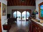 The villa is appointed with high end mahogany furniture of the West Indian tradition.