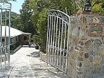 Sea Glass is ideally located in a quiet neighborhood and is fully fenced in with a gate.