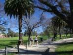 The massive Royal Park is only a very short walk away