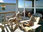 Margarita Villa's Balcony has plenty of comfy seating