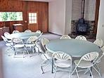 The additional family room can be rented for meetings or as extra lodging space,