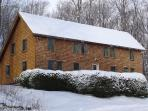 Our duplex home is located just off the Killington Access Road.