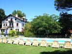 Chateau for luxury holidays near Biarritz, France