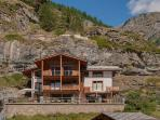 A luxurious freestanding three storey independent chalet with 4 double bedrooms, 3 bathrooms.