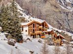 Les Perles - group of 4 freestanding chalets with 17 double bedrooms (Castor, Gemini, Pollux, Ibron)