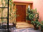 Plant Filled Entrance