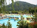 Swimmingpool in Bagni di Lucca (5 minutes driving)