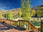 Picture on Back Deck Looking at the Snake River
