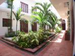 Casa del Virrey common area garden
