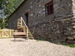 GRAIG LAS, character holiday cottage, with hot tub in Llangynog, Ref 4347