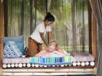 Relax in Icandi without having to leave...why not have an in-house villa massage.