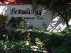 Entrance to Bermuda  Bay