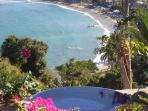infinity pool overlooking sea