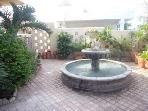 Enclosed Courtyard with Fountain