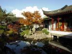 Dr. Sun Yat-Sen Classical Chinese Garden block away http://www.vancouverchinesegarden.com/