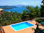 Luxury villas , private pools, stunning sea view.