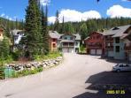 Snow Creek Village Complex in the Summer