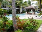 Lush Tropical gardens and surrounds invite relaxation