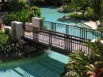 Pools wind throughout the entire resort