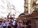 Market rue Montmartre