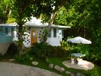The 'Bougainvillea' villa from the front...