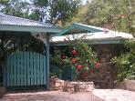 Stonegarden Cottage Entrance, St. John vacation rental