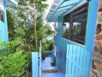 Stairs to the Lower Level, St John Rental, USVI