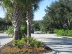 Driveway into Heritage Key Villas