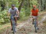 biking in the C & O Canal National Park with River Riders