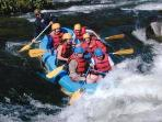 rafting on the Shenandoah River with River Riders