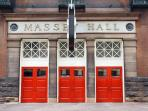Across the street is Massey Hall, Toronto's Legendary Concert Hall