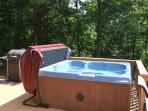 new hot tub cover and lift.