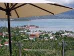 View from Sundeck overlooking Big Buddah Temple Complex