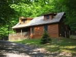 Perfectly private pet-friendly mountain home has all the comforts of home.