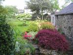 Stick Cottage garden