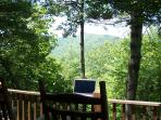Bring your laptop for WiFi internet while relaxing on the porch