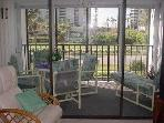 Enjoy your morning coffee on the screened lanai