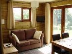 Livingroom showing sofabed