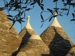 Trulli cones of main Trullo