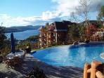 View of resort - Infinity edge pool